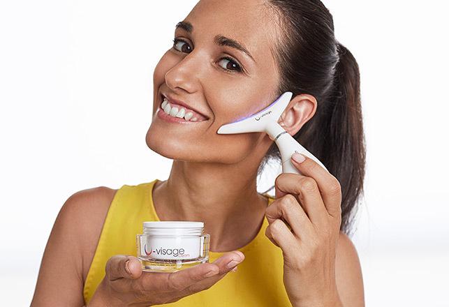 U-Visage hidratáló krém arcra és nyakra bio kollagénnel és..